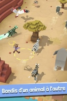 Rodeo Stampede, jeu Android gratuit